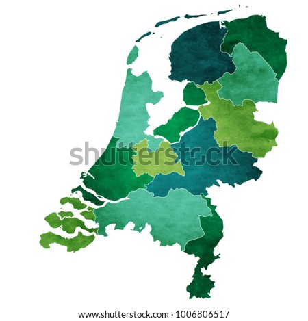 Free Netherlands Map Icons Vector Download Free Vector Art Stock