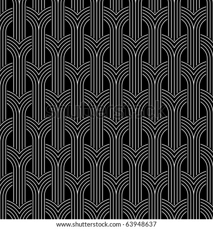 Netting seamless pattern - vector background for continuous replicate. - stock vector