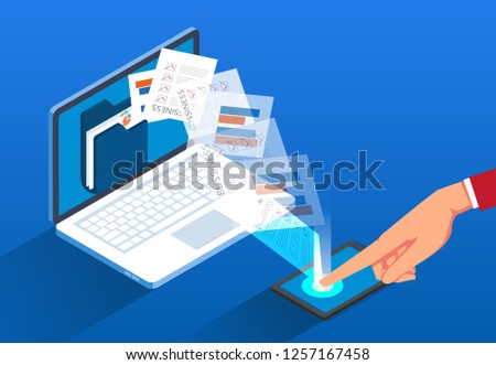 Network file transfer