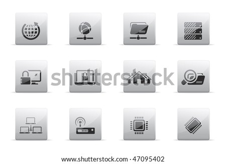 Network icon set