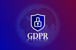 Network protection, inscription GDPR, protection of electronic payments, transactions and transfer worldwide, currency exchange, cybersecurity. Application, services for smartphone, gadgets and laptop