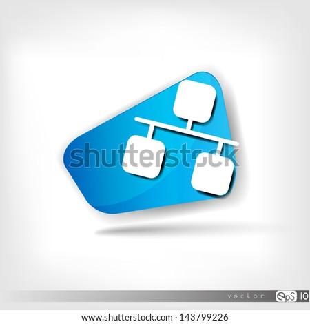 Network web icon