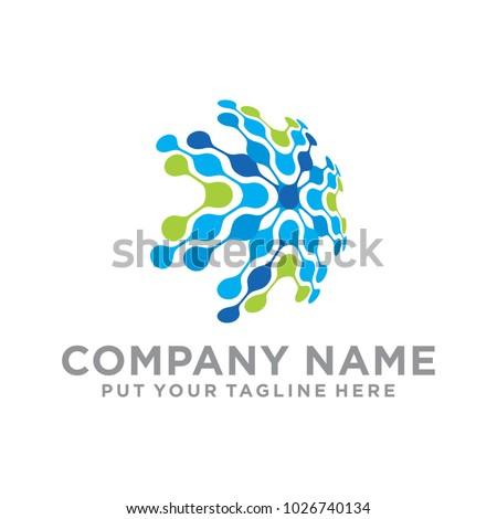 Network World Shield Logo Icon