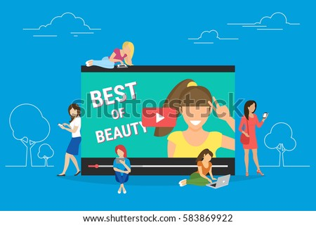 networking and beauty bloger