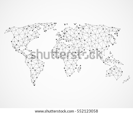 Royalty free stock photos and images networking world map texture networking world map texture low poly earth map vector global communication concept illustration gumiabroncs Choice Image