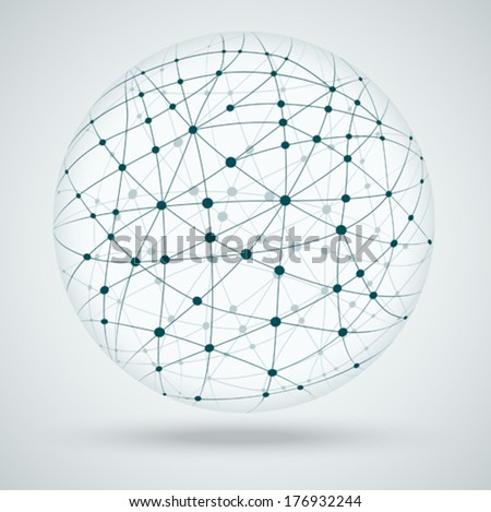 Networks, global connections.