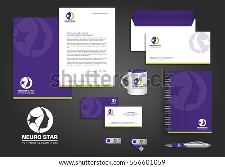 stationery design template
