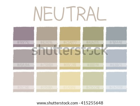 neutral color tone with code