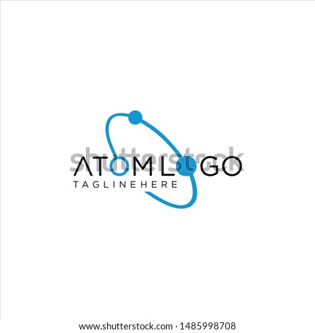 Neutron Atom Logo Icon Design Vector Stock Stock photo ©