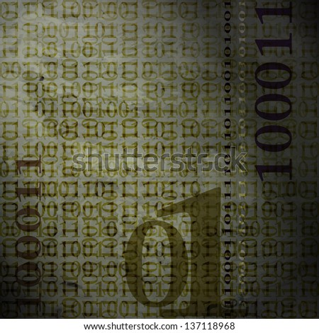 new abstract background with binary code can use like modern wallpaper