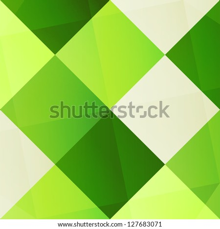 new abstract background with green colored squares can use like modern wallpaper