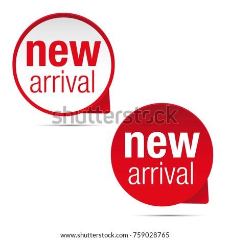 New arrival label set