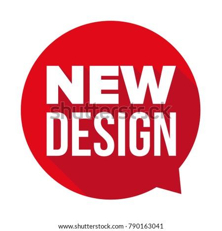 New Design label tag sticker