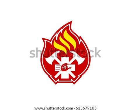 new emblem firefighter