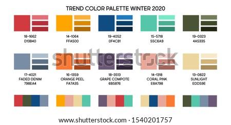 new fashion color trend winter