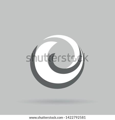 new firefox logo abstract