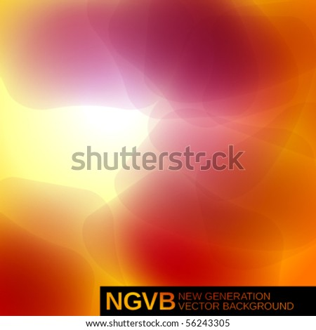 New Generation Vector Background. Spots. Easy to edit. To modify elements you should to unclip content. - stock vector