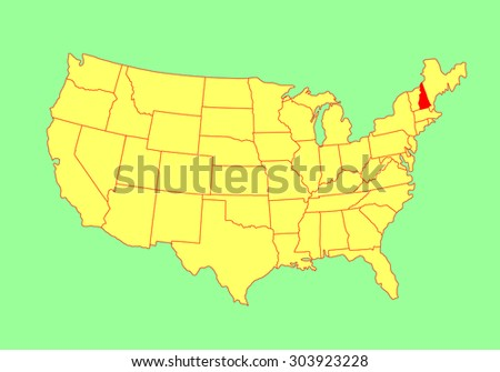 united states map editable