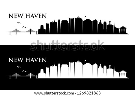 new haven skyline   connecticut