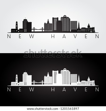 new haven  usa skyline and