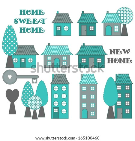 New Home Clip Art Vectors Download Free Vector Art Graphics - New home clipart