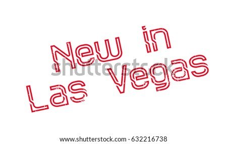 new in las vegas rubber stamp