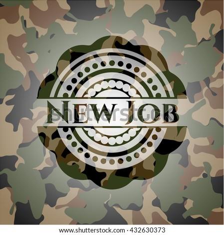 New Job camo emblem