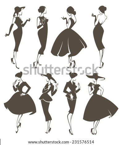 new look girls  large vector
