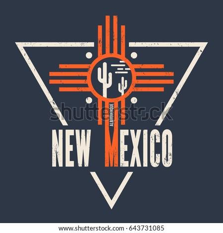 new mexico t shirt design ...