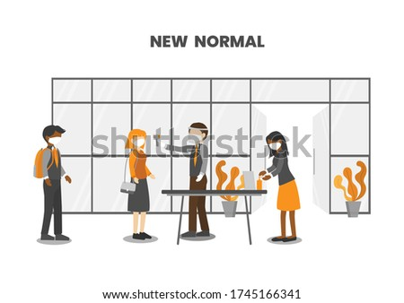 new normal  checking people for