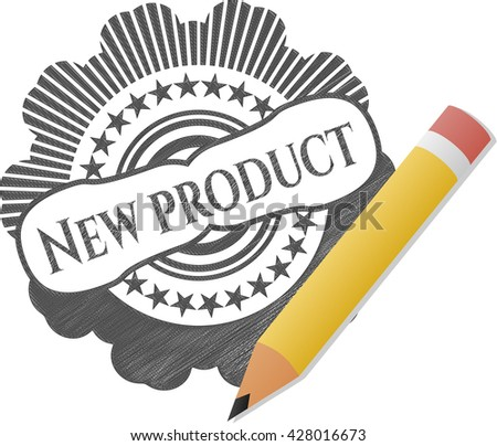 New Product draw (pencil strokes)