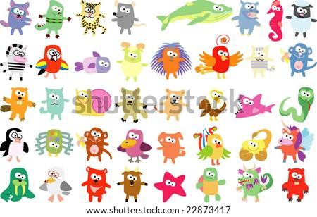 new set of animals 41