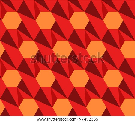 New vector seamless geometric patterns