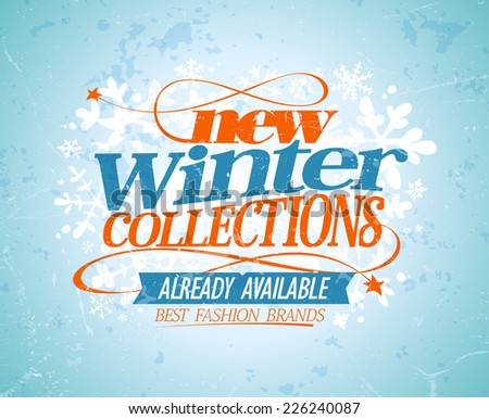 new winter collections design