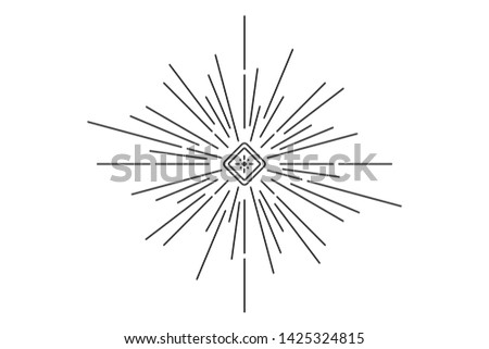 New World Order. Eye of Providence. Hand-drawn alchemy, religion, spirituality, occultism. Conspiracy theory. Masonic and esoteric symbol.