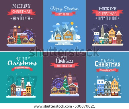 new year and christmas greeting
