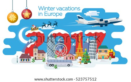 new year and winter travel