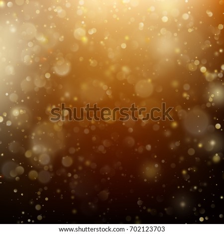 new year and xmas defocused