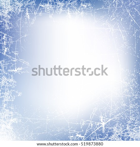new year background frosted