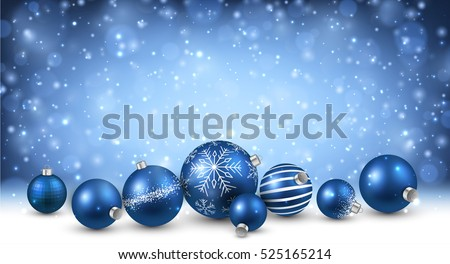 new year background with blue