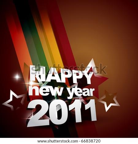new year beautiful background design