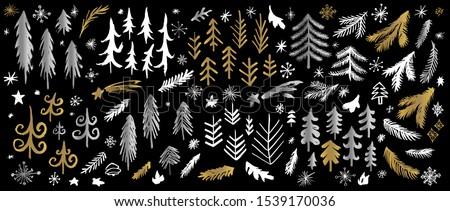 new year  christmas tree