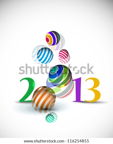 New year 2013design.