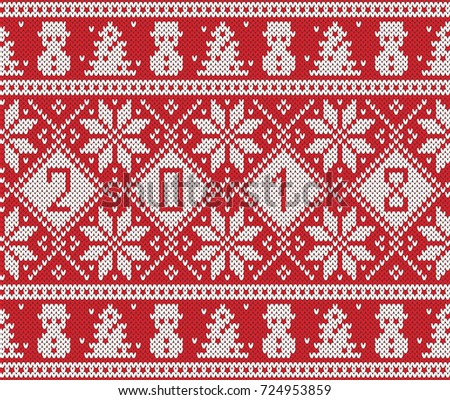 Christmas Sweater Patterns - Download Free Vector Art, Stock ...