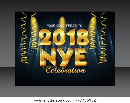New year flyer (1 january) #779796952