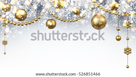 new year gray background with