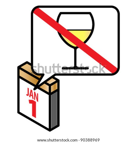 New year resolution - quit alcohol / drinking.