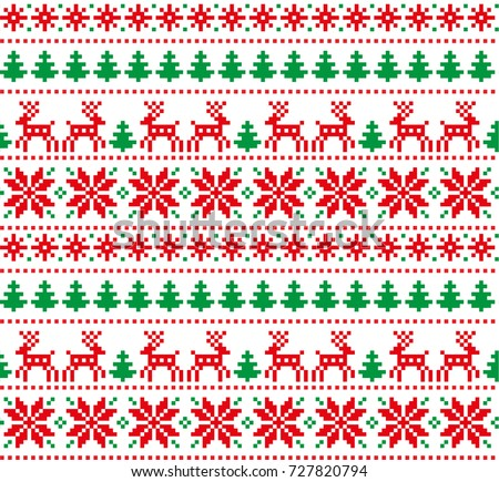 Holiday Christmas Pattern Download Free Vector Art Stock Graphics Amazing Christmas Patterns