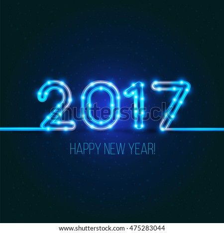new year's design 2017 the