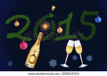 New Year\'s Eve Champagne